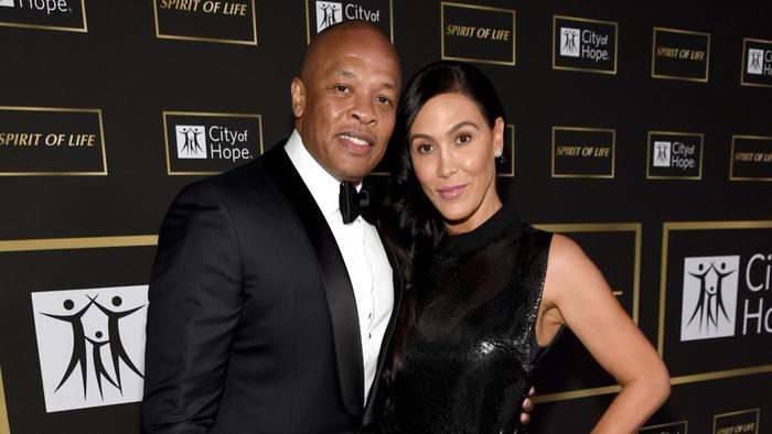 Dr. Dre con Nicole Young, Spirit of Life Gala 2018