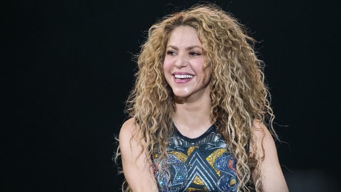 Shakira en concierto en Madrid 2018