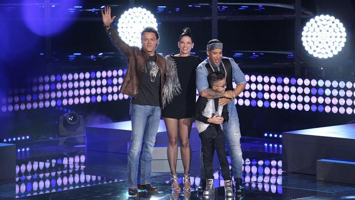 Pedro Fernández Natalia Jiménez Jonael y Daddy Yankee La Voz Kids 2016