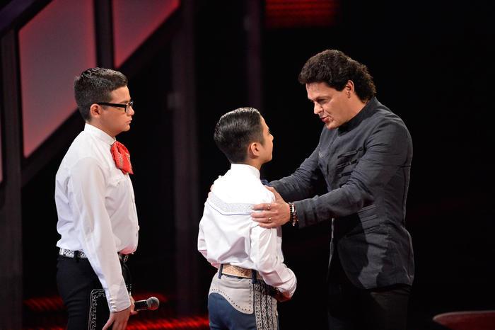 Tristan Alexis Pedro Fernández en la tercera ronda de batallas de La Voz Kids