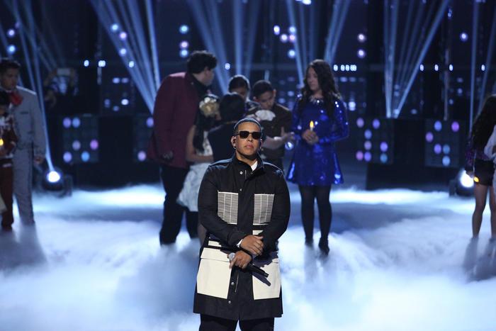 Daddy Yankee en la primera noche de la Etapa Final de La Voz Kids