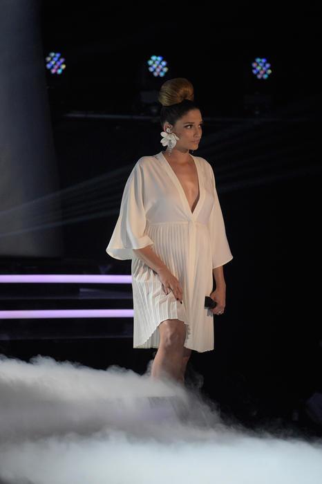 Natalia Jiménez en la primera noche de la Etapa Final de La Voz Kids