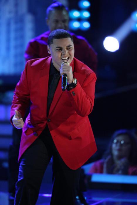 Axel en la semifinal de La Voz Kids