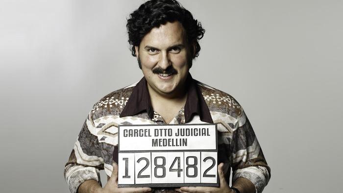 Andrés Parra, Pablo Escobar
