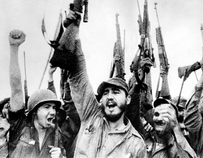 El líder de la revolución cubana, Fidel Alejandro Castro Ruz, en 1959