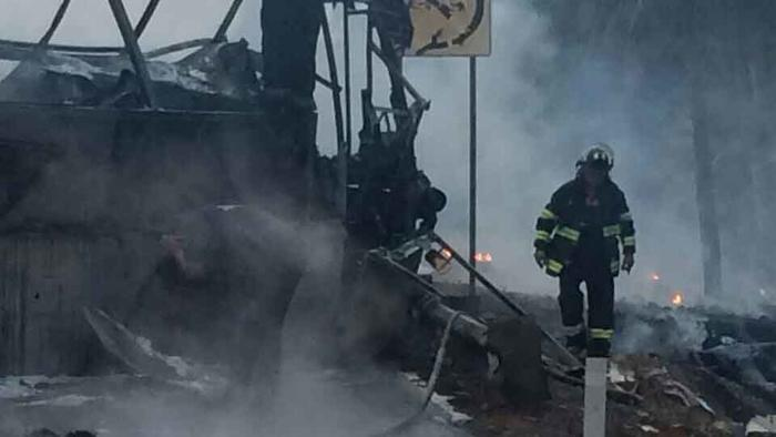 Chofer del autobús, presunto culpable de choque en autopista Siglo XXI
