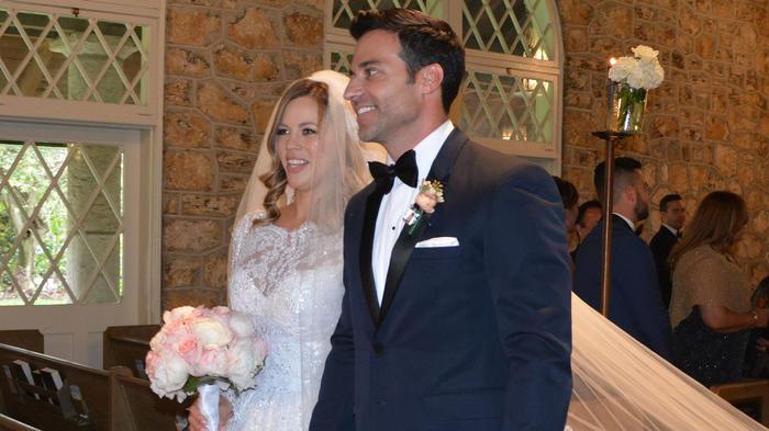 ¡Marido y mujer! Así fue la boda de Ximena Duque y Jay ...
