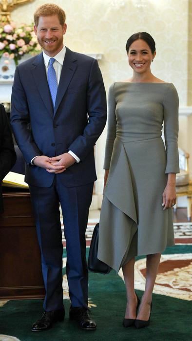 Meghan Markle y el príncipe harry en Irlanda