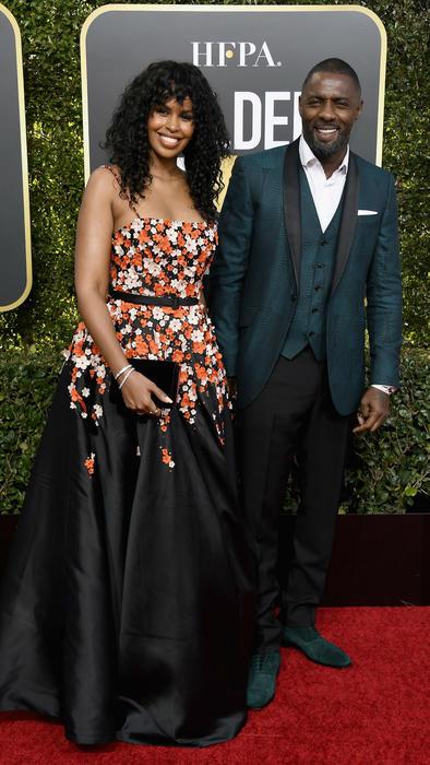 Idris Elba y su hija Isan Elba