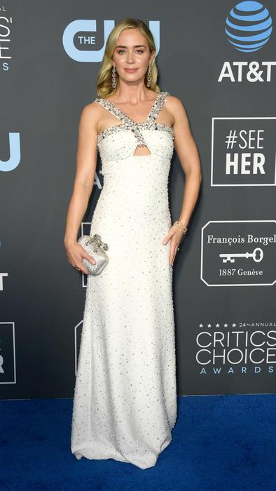 Emily Blunt en los Critics' Choice Awards 2019