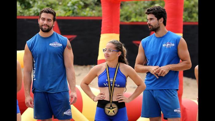 Valeria Sofía ya es medallista en Exatlón