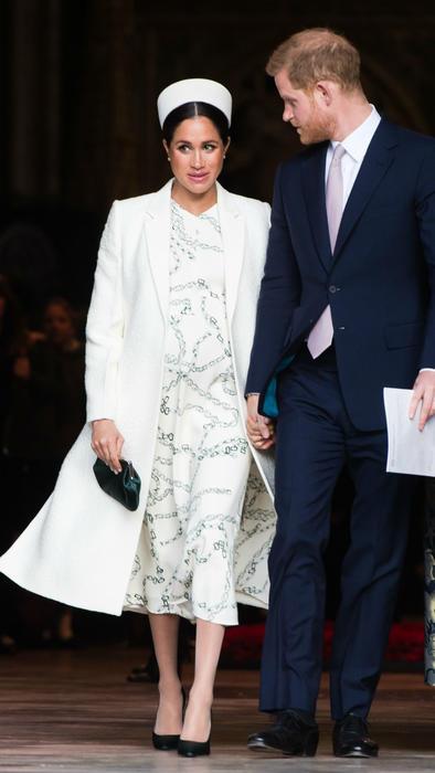 Meghan Markle y el príncipe Harry en Inglaterra