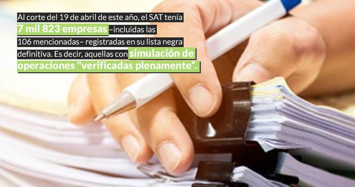 """Empresas que estaban en la """"lista negra"""" del SAT también recibieron contratos en el Gobierno de EPN"""