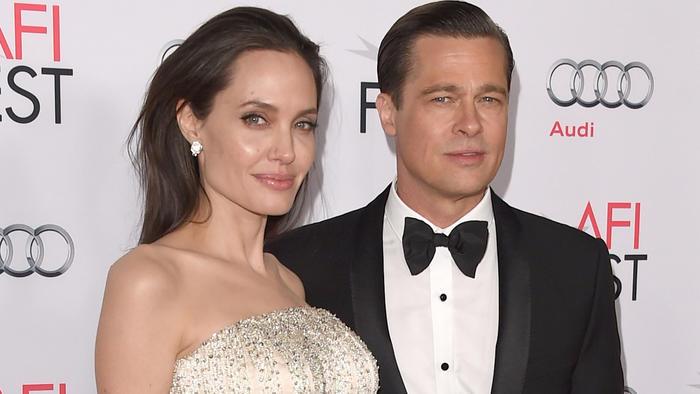 Angelina hizo tregua con Brad Pitt y él está feliz