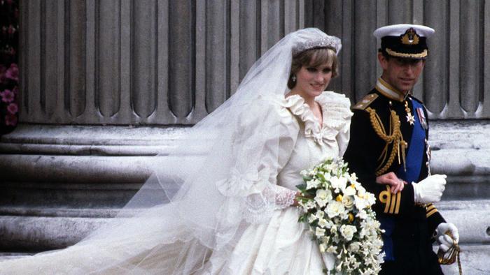 Boda de príncipe Carlos con Lady Di