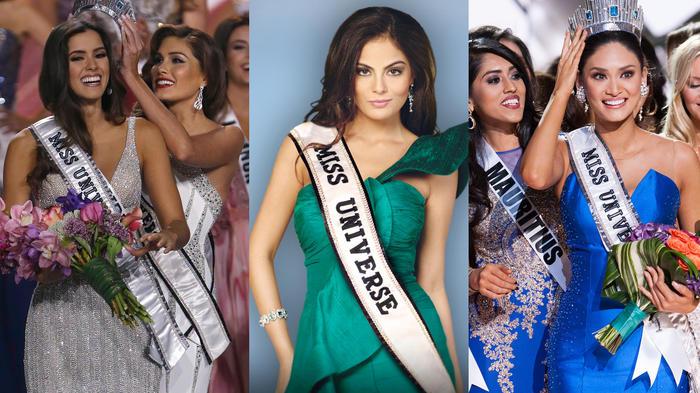 Todas las ganadoras del concurso Miss Universo