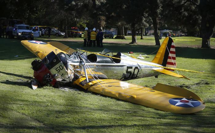 Harrison Ford está gravemente herido después de sufrir un accidente de avión