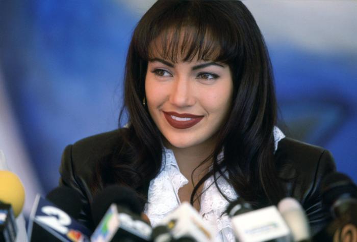 Jennifer Lopez en la película Selena