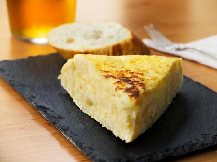 tapa espanola de tortilla de patatas