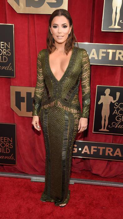 Eva Longoria en la alfombra roja de SAG Awards 2016