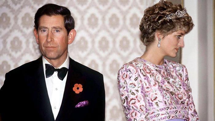 Lady Di y príncipe Carlos
