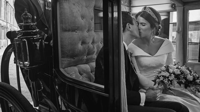 Eugenia de York en su boda