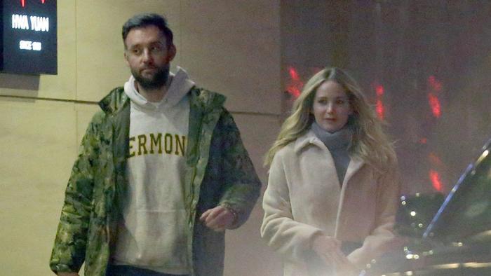 Cooke Maroney con Jennifer Lawrence
