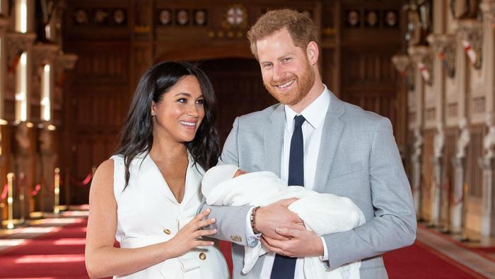 Meghan Markle, el príncipe Harry y su bebé