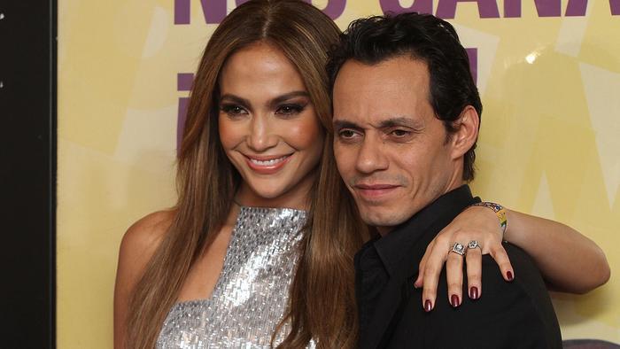 Jennifer Lopez y Marc Anthony en Teleton 2010