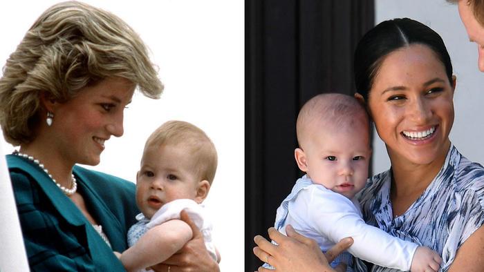 Meghan y princesa Diana