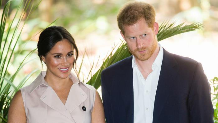 Príncipe Harry y Meghan Markle en África