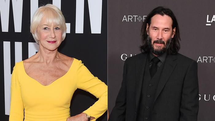 Keanu Reeves aparece con Alexandra Grant como nueva pareja