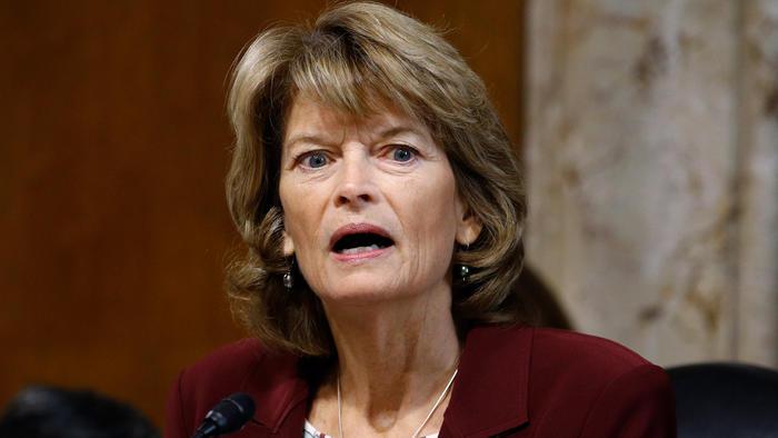 Lisa Murkowski, senadora republicana por Alaska en una imagen de archivo.
