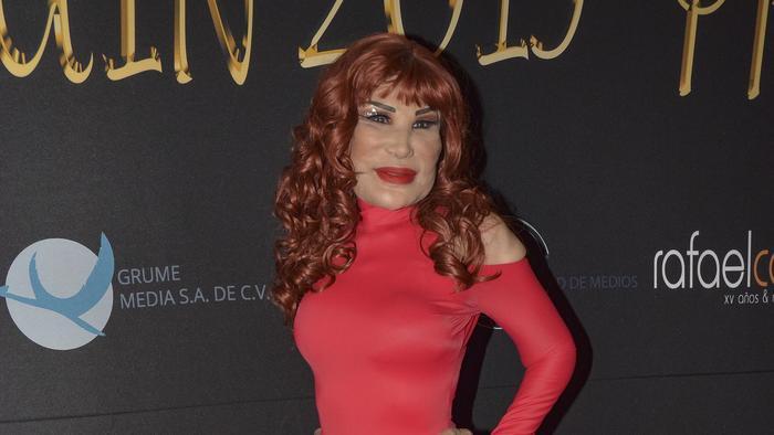Lyn May en los Arlequin Awards de 2019