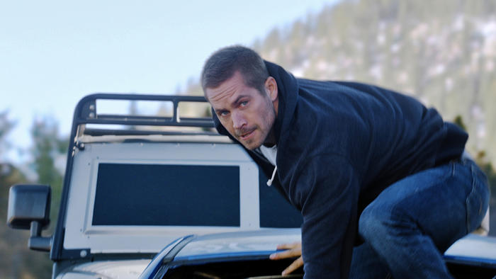 "Paul Walker en ""Furious 7""."