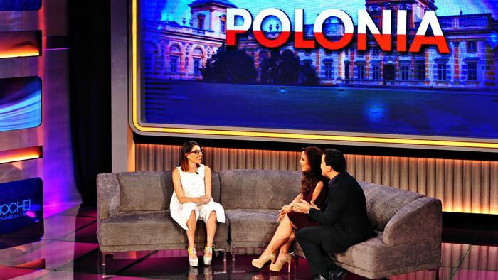 Michelle Poler viaja a Polonia gracias a Que Noche