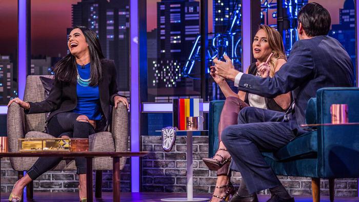 Scarlet Gruber, Erika de la Vega y Eduardo Videgaray en entrevista de Ya Era Hora