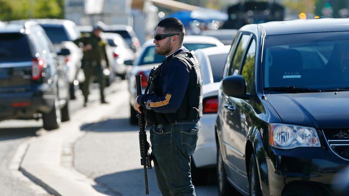 policia tiroteo california