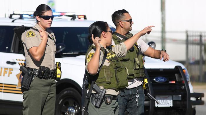 tiroteo california sheriff