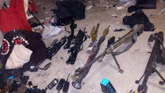 Armas el Chapo