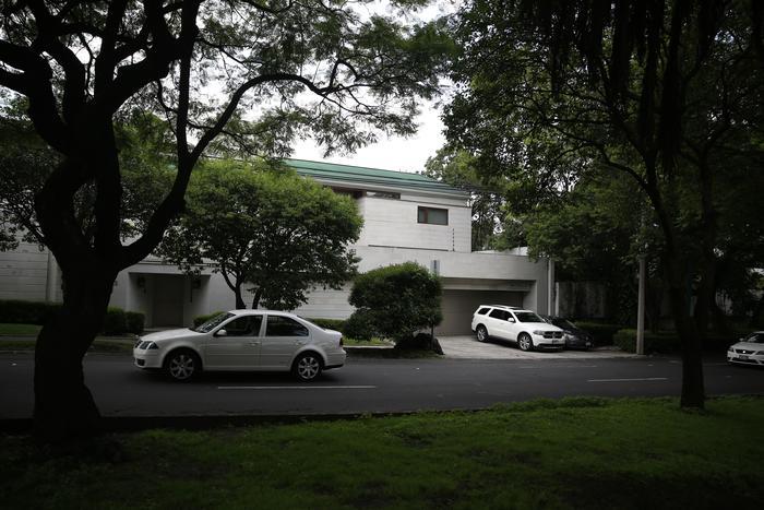 Fotografía de la residencia de la ex primera dama de México, Angélica Rivera
