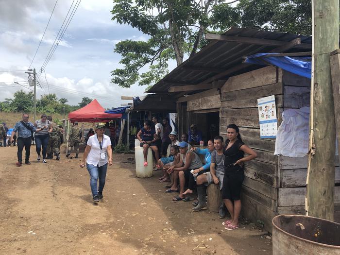 La crisis migratoria aumenta en el tapón del Darién con la llegada de migrantes de Africa, Asia, El Caribe y Medio Oriente