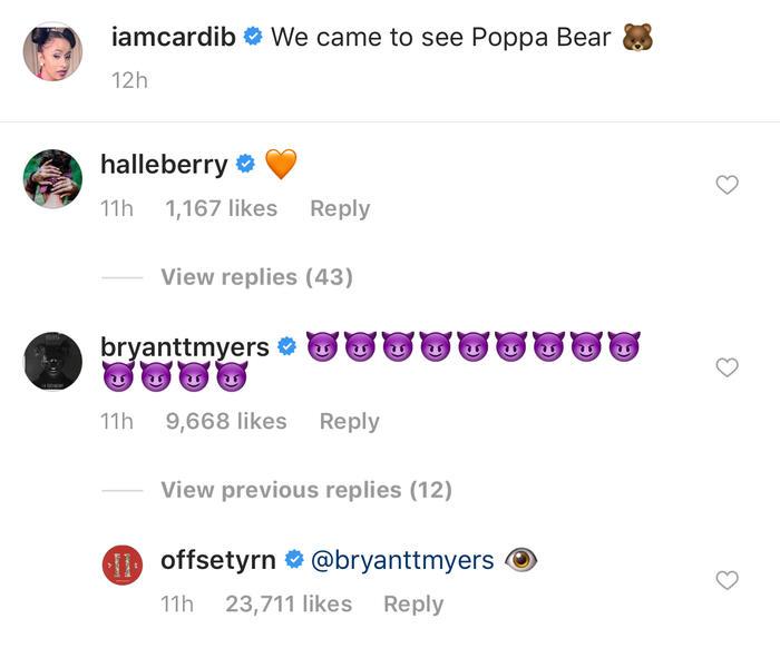 Bryant Myers, Cardi B, Offset