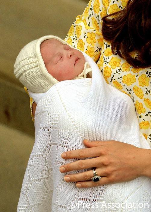 La princesa hija de William y Kate