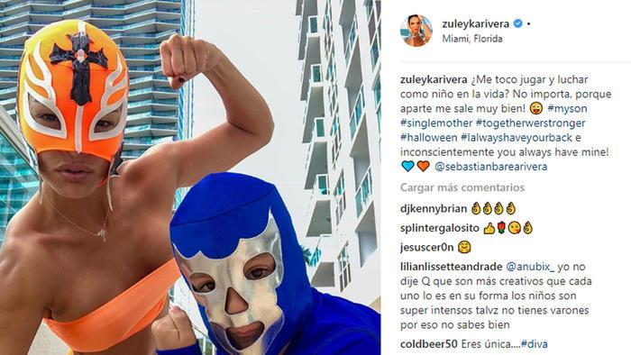 Foto del Instagram de Zuleyka Rivera
