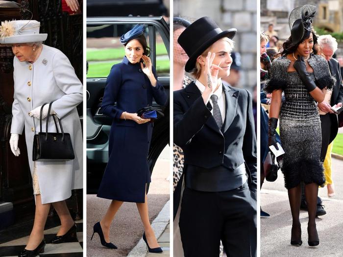 A la boda asistieron miembros de la familia real y varias celebridades