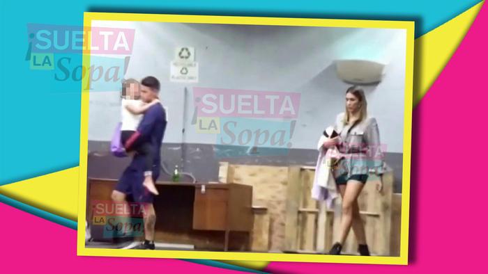 James Rodríguez con su ex
