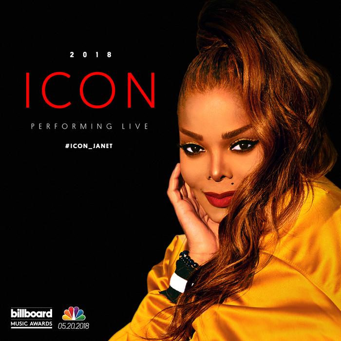 Honrarán a Janet Jackson en los Billboard Music Awards 2018