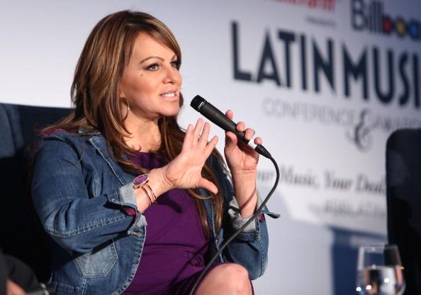 Jenni Rivera, conferencia Premios Billboard, 2015