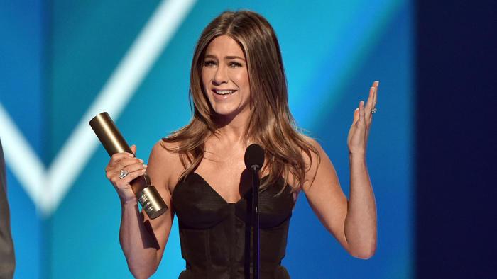 Jennifer Aniston recibió el People's Icon Award